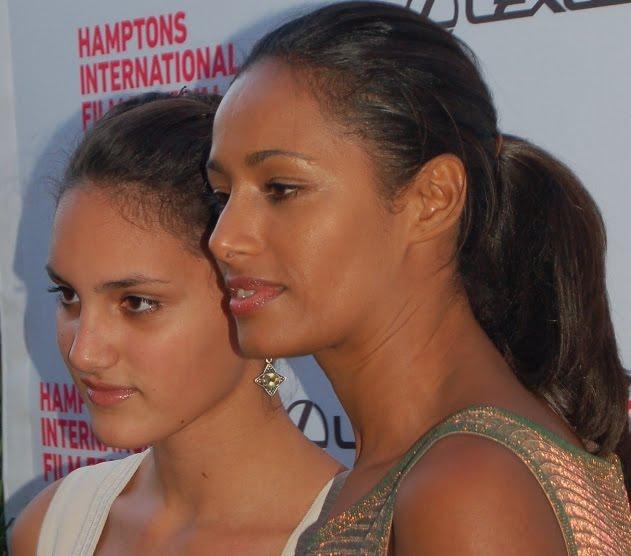 Rula Jebreal Hot Pictures: Rula Jebreal Daughter Freida Pinto Miral