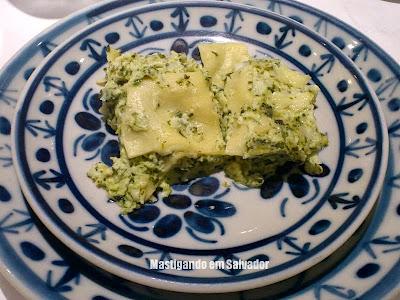 Oliva Gourmet: Lasanha de Espinafre com Mussarela de Búfala