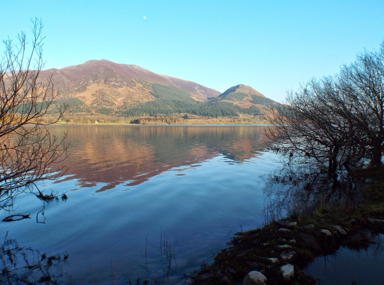 Reflection in Bassenthwaite Lake