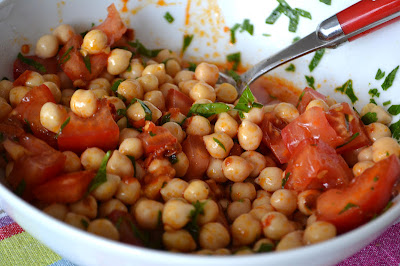 COMFORT BITES BLOG: Mini Harissa Lamb Burgers and a Chickpea, Tomato ...