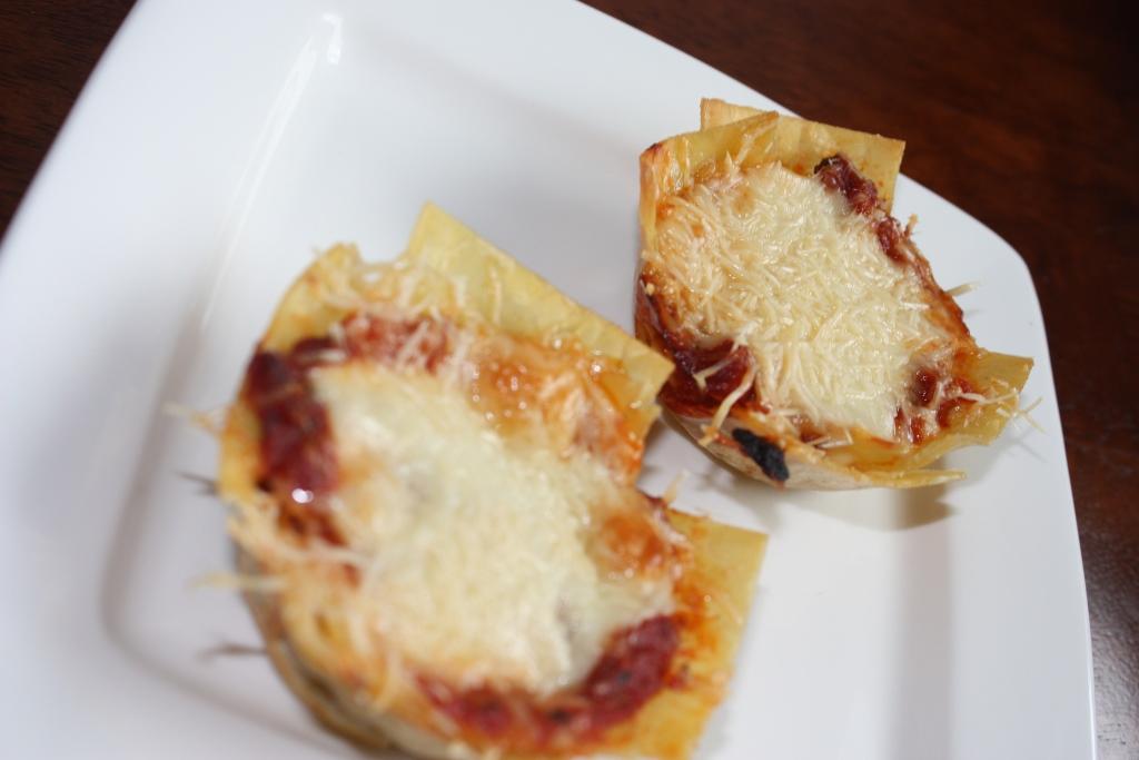 LIME RIOT: Lasagna Cupcakes