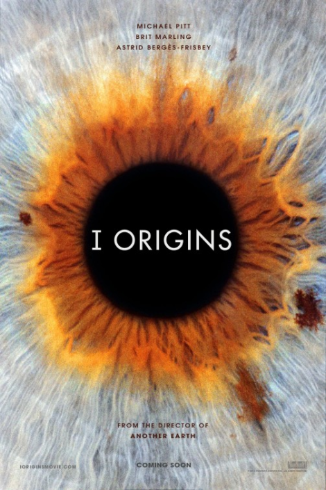 'I Origins' Film Poster with Michael Pitt and Brit Marling