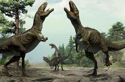 Dinosaurus Gunakan Tarian untuk Menarik Pasangan