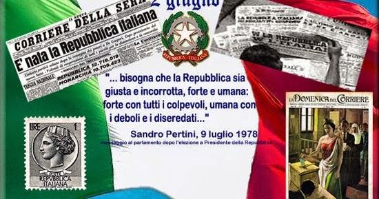 Amici in allegria 2 giugno 1946 nascita della repubblica for Repubblica italiana nascita