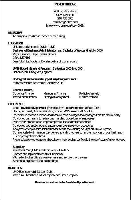 accountant sample resume. Resume Example. Resume CV Cover Letter