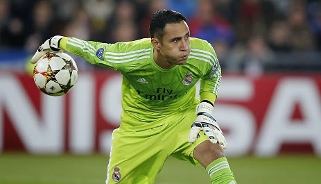 Arsenal to fight Liverpool for Keylor Navas deal