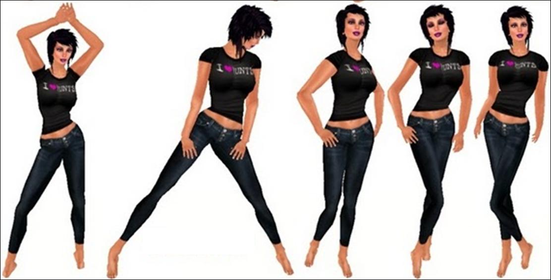 Basic Modeling Poses