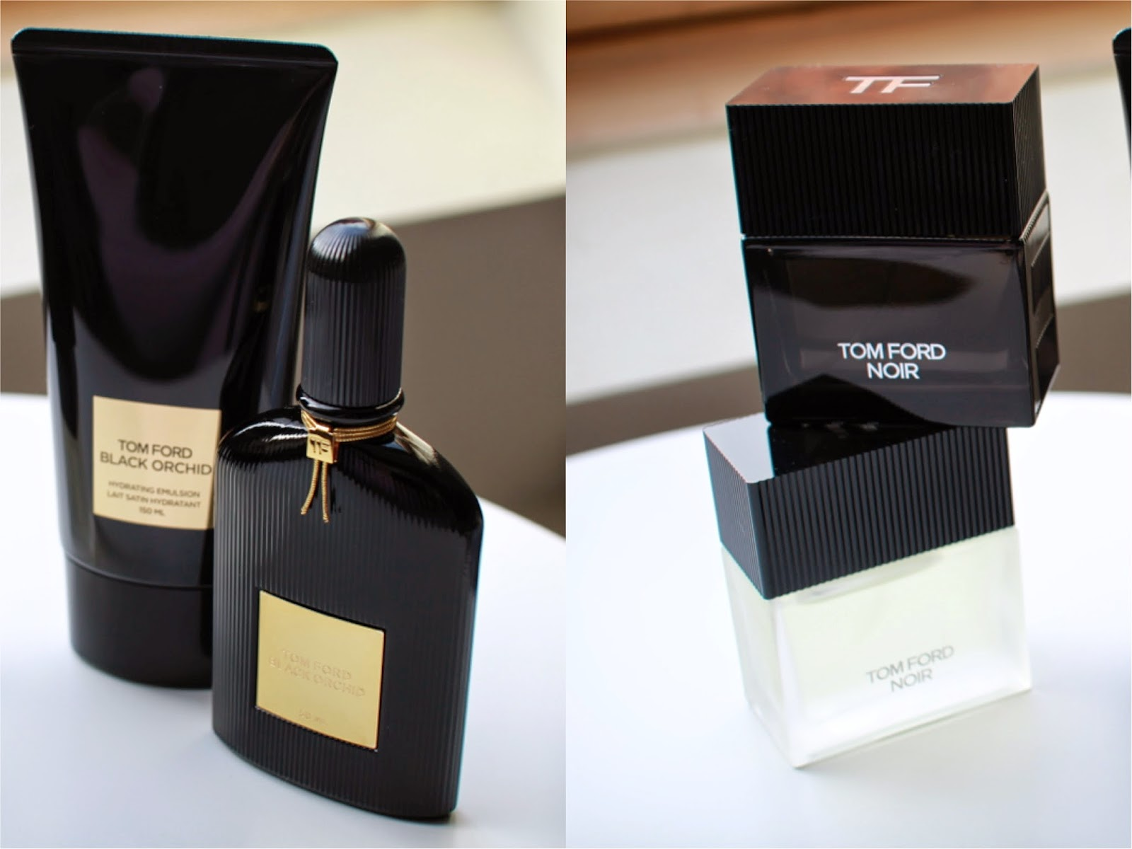 Tom Ford Noir and Black Orchid