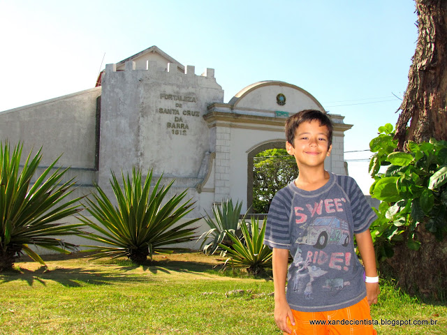 Fortaleza de Santa Cruz da Barra - Em Niterói