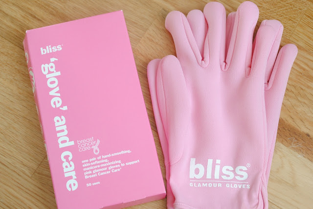 bliss+pink+glamour+gloves+breast+cancer+care