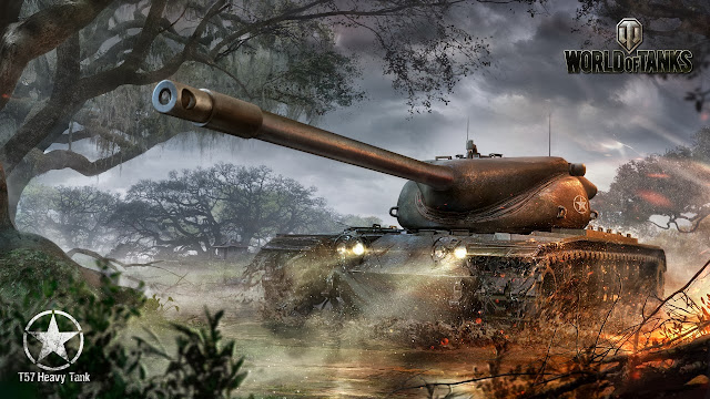 t57 heavy tank world of tanks wallpapers HD