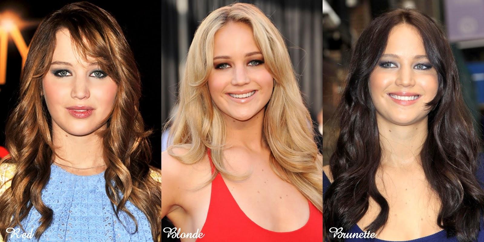 blonde or dark hair more attractive