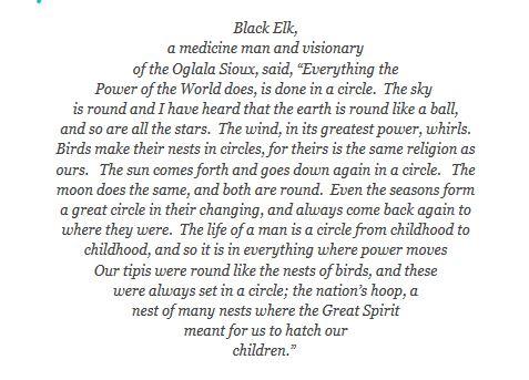 the circle of life black elk