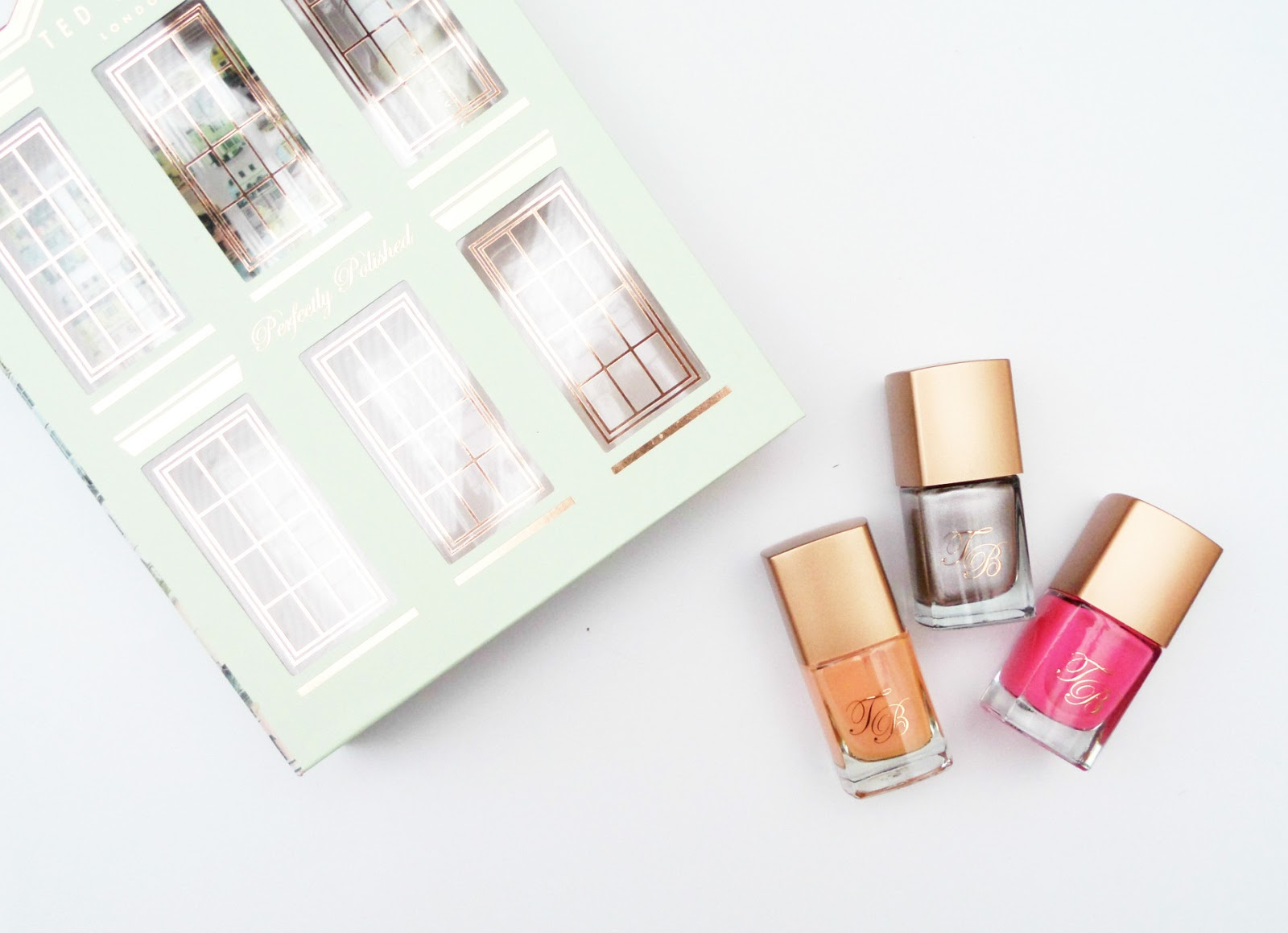 The The Ted Baker London Perfectly Polished Nail Varnish Set Review