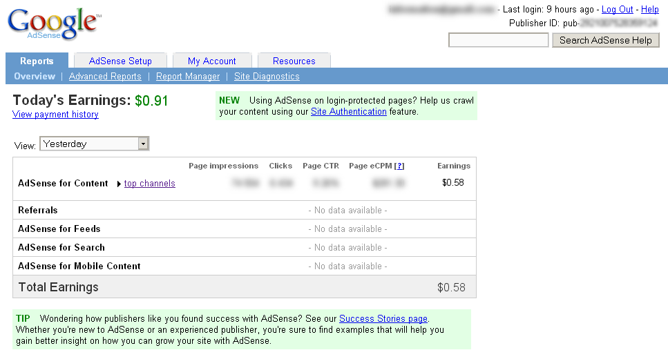 How I made $500 in one day through Adsense