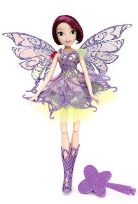 TOYS : JUGUETES - WINX CLUB  Butterflix Fairy - Tecna | Muñeca - Hada Producto Oficial - New TV Series 7 | Giochi Preziosi | A partir de 3 años Comprar en Amazon España