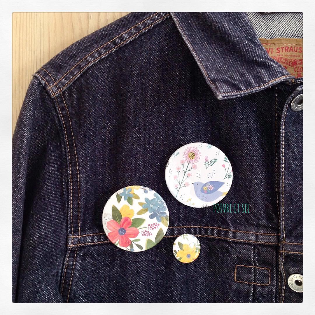 Broches PRIMAVERA