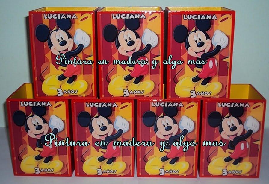 Sorpresas Cajas De Mickey Y Minnie Mouse Manualidades