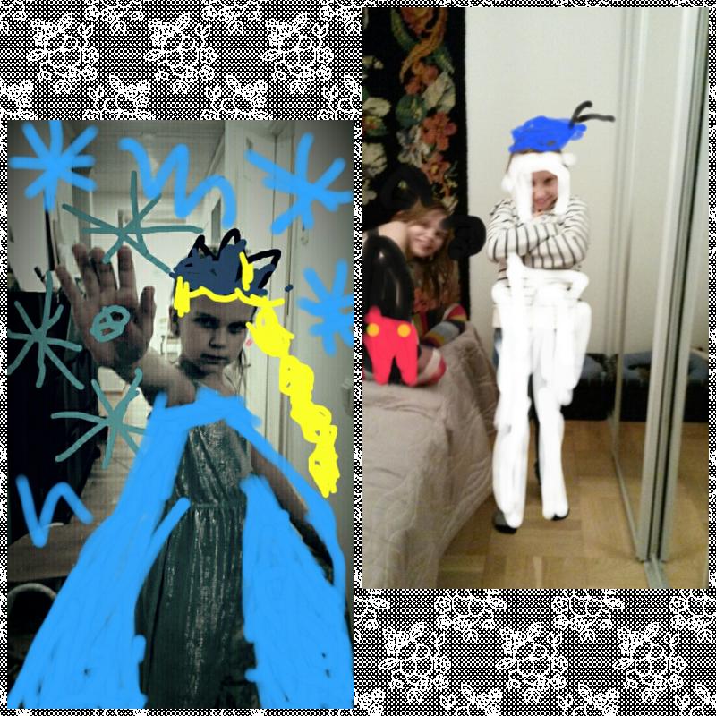 Frozen, Aku ja Mikki