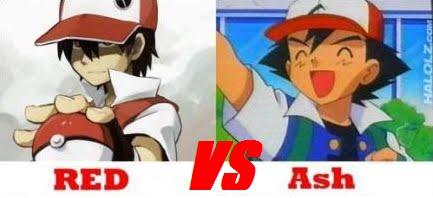 Paraci N De Personajes Ash Vs Rojo