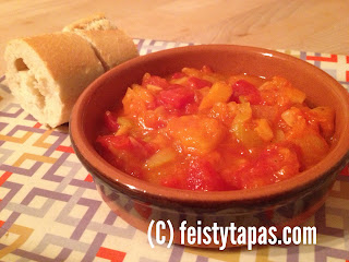 Pisto a la Thermomix (Spanish recipe) / Thermomix pisto