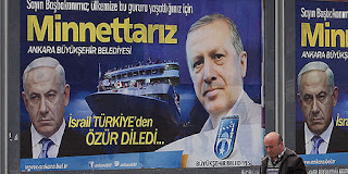 Picture of Turkish billboard of Netanyahu
