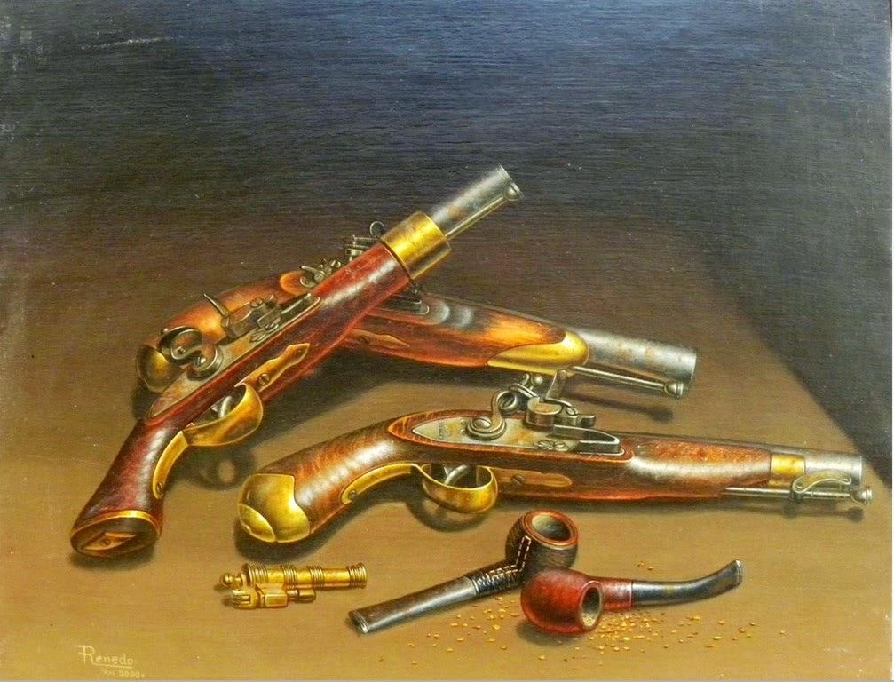 pinturas-clasicas-de-pistolas