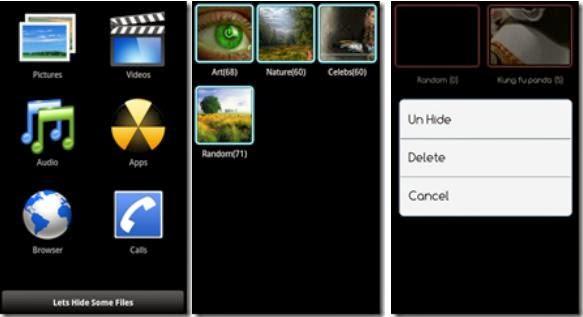 Folder hider App For Android