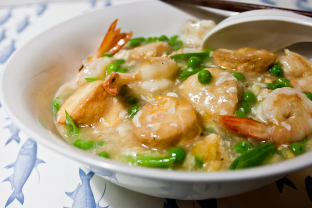 3 hungry tummies egg tofu prawns and peas in silky egg sauce egg tofu prawns and peas in silky egg sauce malaysian monday 79 forumfinder Images