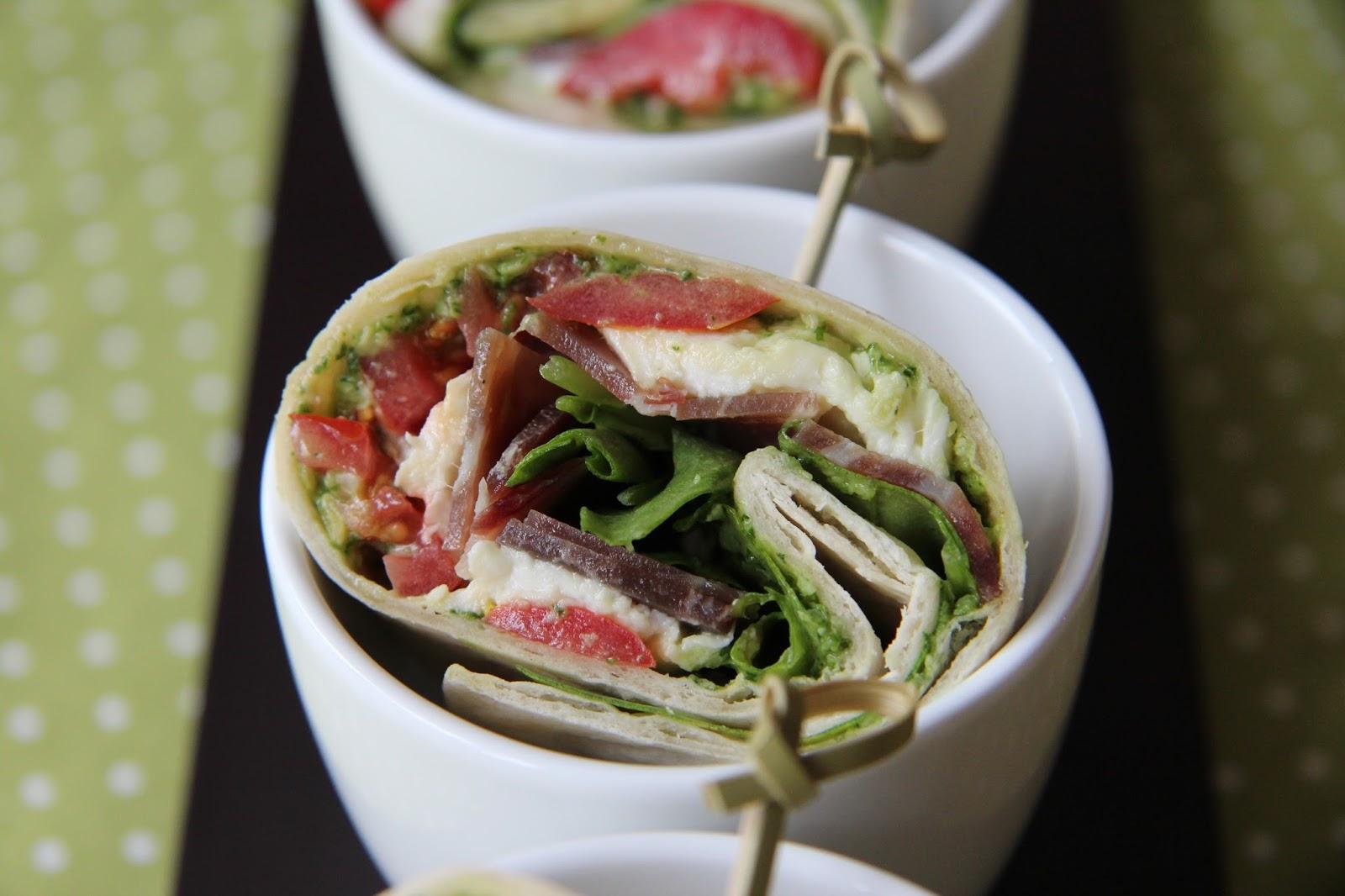 Wraps aux saveurs italiennes blogs de cuisine - Cuisine italienne blog ...
