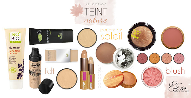 selection marques nature bio routine teint