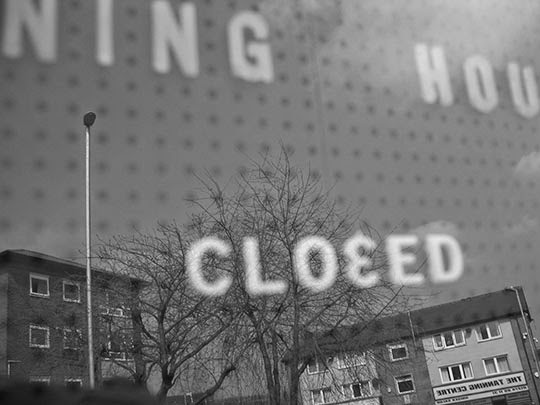 closed, contemporary photography, photo, black and white, art
