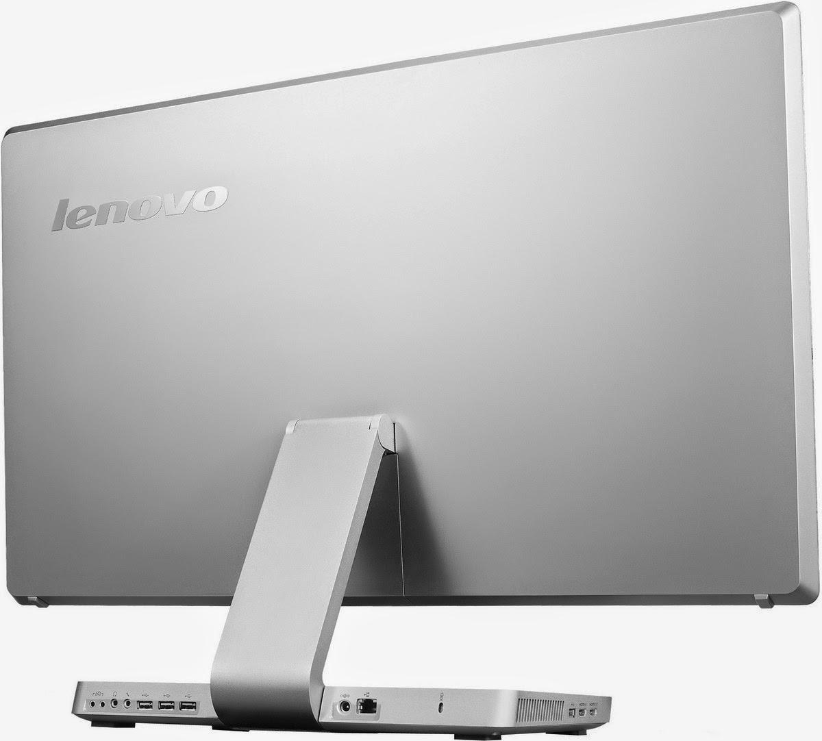 задняя сторона моноблока Lenovo IdeaCentre A720