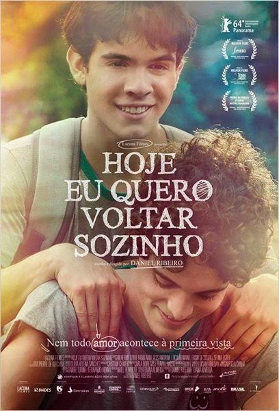 """Poster do filme """"Hoje Eu Quero Voltar Sozinho"""""""