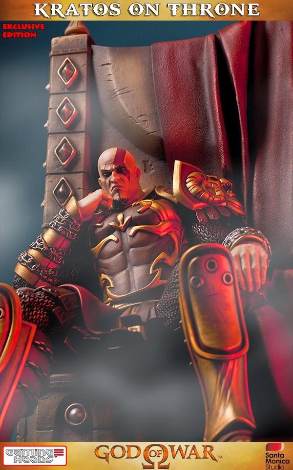 Kratos sul trono della Gaming Heads