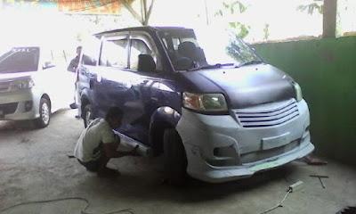 Suzuki APV Lama, adaptasi ke Suzuki APV Luxury 2013