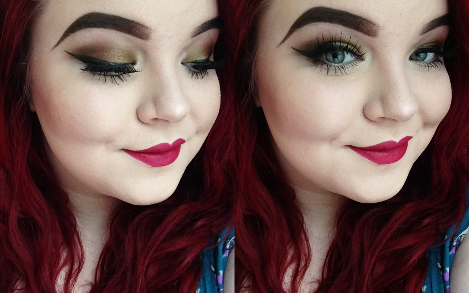 Two Makeup Looks using Neve Cosmetics, Eyes of Horus and Lash Boutique! Georgina Grogan, shemightbeloved