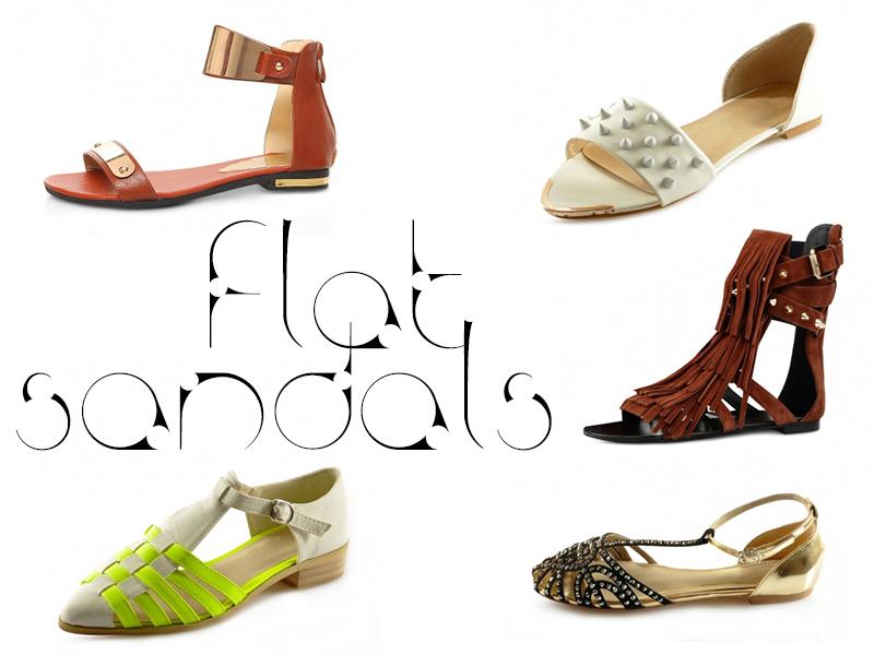 Dressale flat sandals