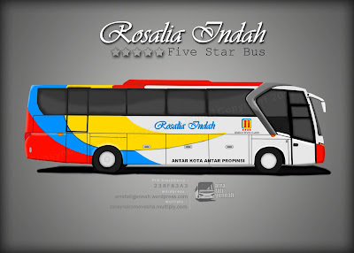 Disain Livery PO Rosalia Indah