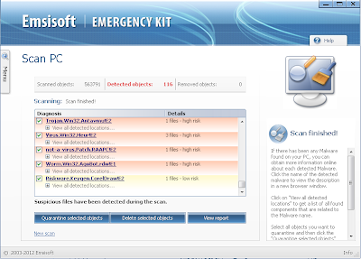 Emsisoft Emergency Kit | Anti malware, adware, worm, trojan
