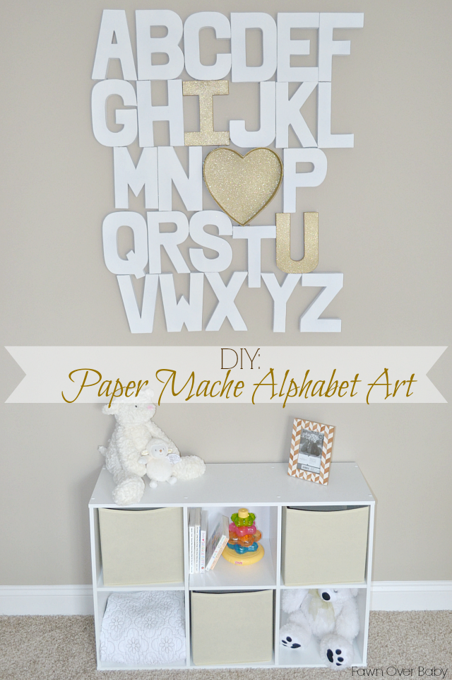 Trend How To Create Your Own Paper Mache Alphabet Art