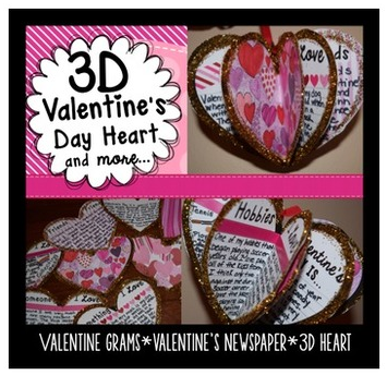 3D Valentine's Day Project