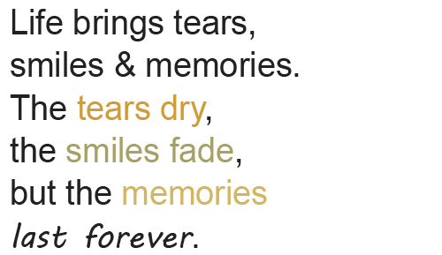 smile quotes and sayings for girls life brings tears smiles and ...