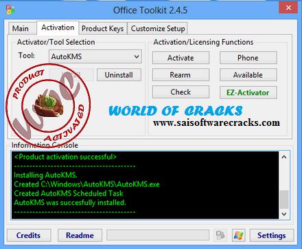 activation office 2013 microsoft toolkit