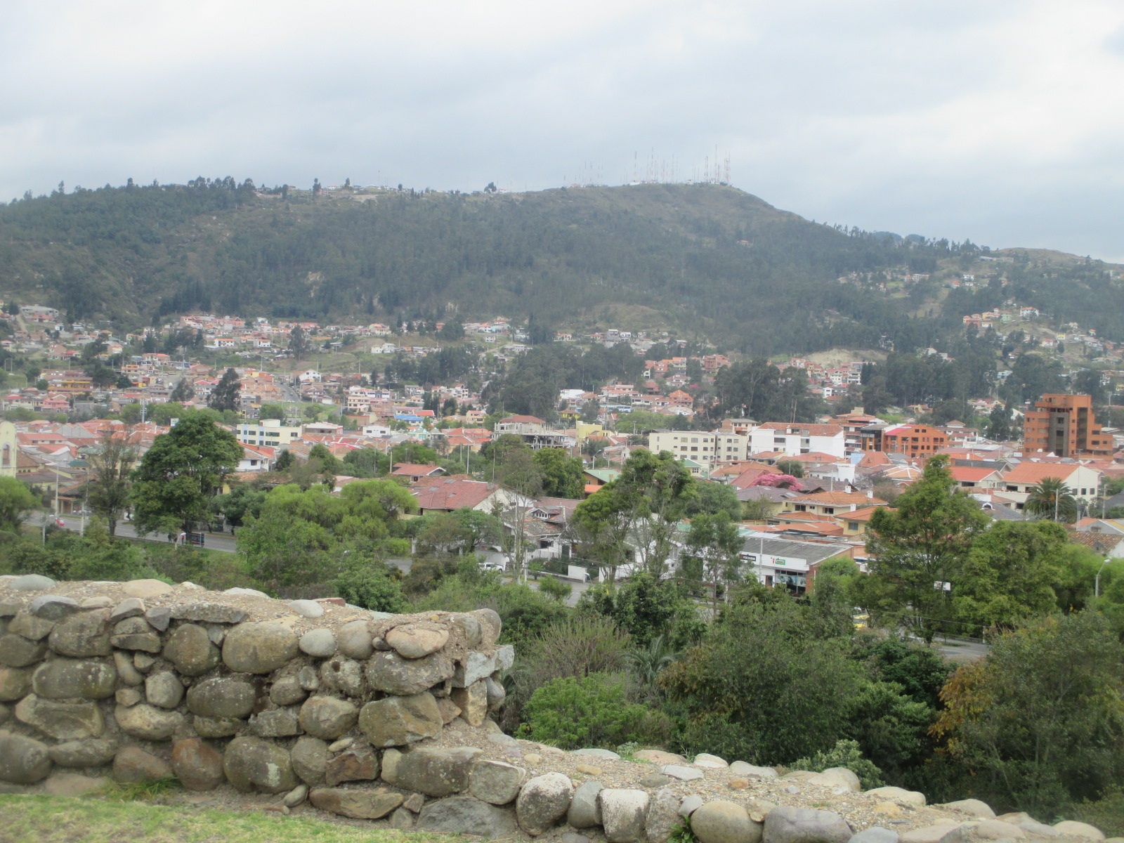 discover beyond working overseas gringos view of cuenca from pumapungo botanical gardens