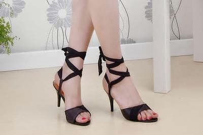 Zapatos de Tacon Alto, Mujer Moderna