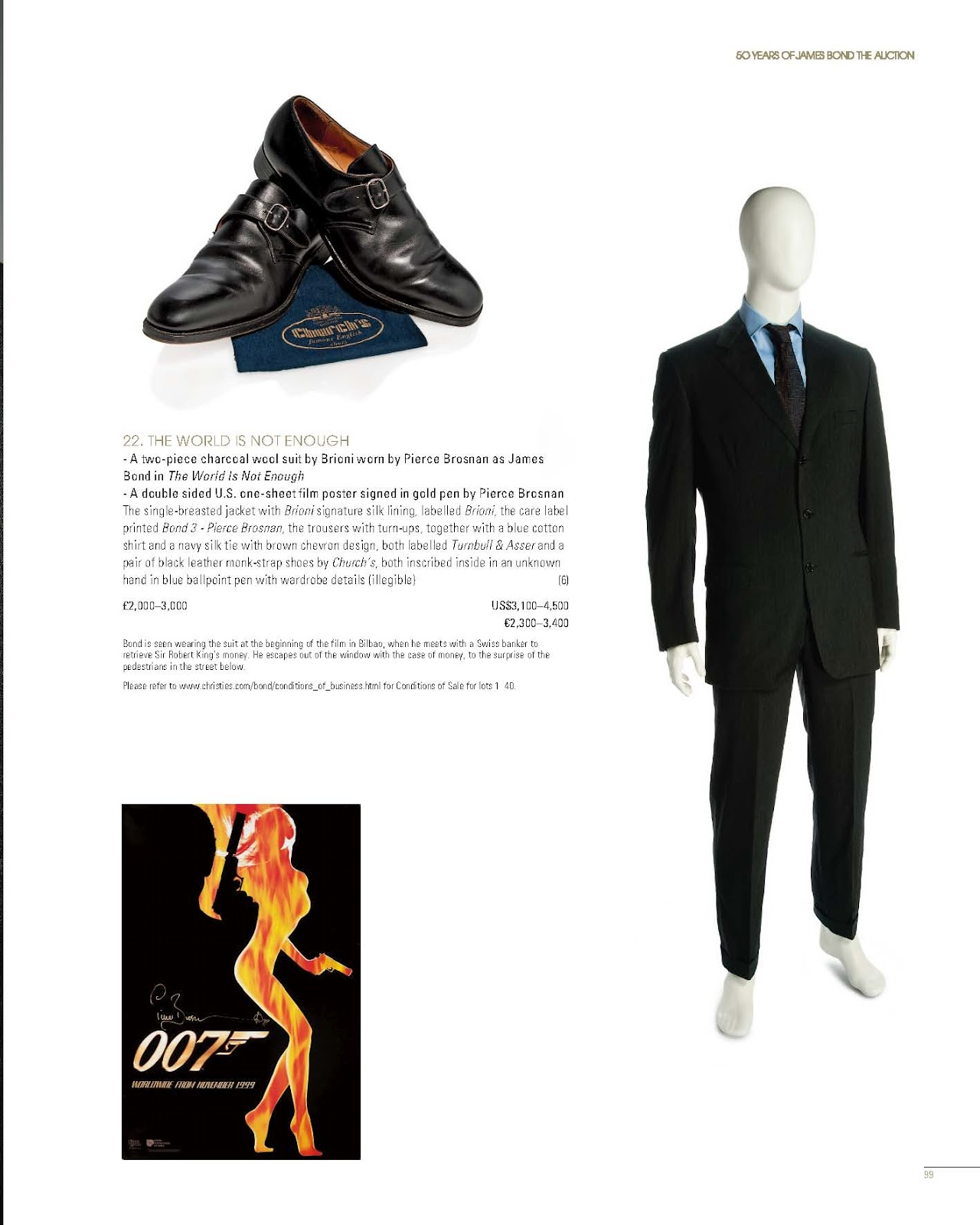 Luxury Life Design 50 Years of James Bond The Auction