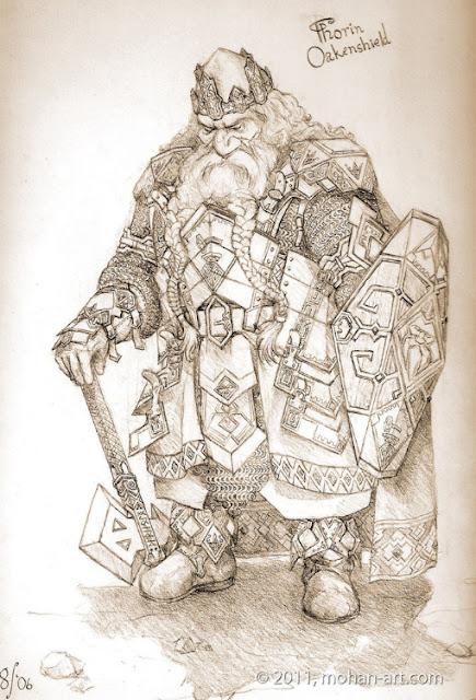 dibujos del hobbit