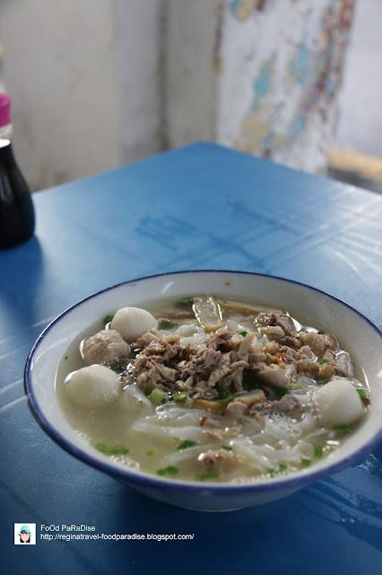 Koay Teow Th'ng at Kedai Kopi Tong Hoe, Jalan Kuala Kangsar, Penang.