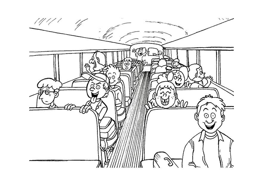 School Bus Drawing School Bus Coloring
